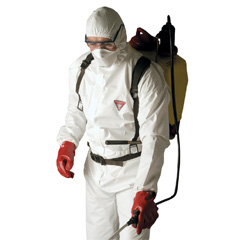 ชุดป้องกันละอองน้ำและฝุ่น KLEENGUARD* A20 (SP) Breathable Particle Protection Coveralls - Grey L