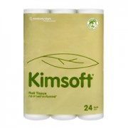 กระดาษชำระม้วน KIMSOFT* Bathroom Tissue 24'R
