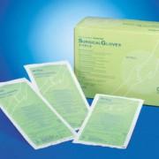 ถุงมือลาเท็กซ์ ไร้แป้ง ฆ่าเชื้อ Latex, Sterile, Powder Free Size 8, 50 prs/ box, 4 box/case