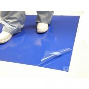 แผ่นกาวดักฝุ่นสีฟ้า Sticky Mat, Blue