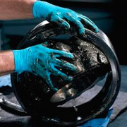 ถุงมือ KLEENGUARD* G10 Blue Nitrile Gloves L
