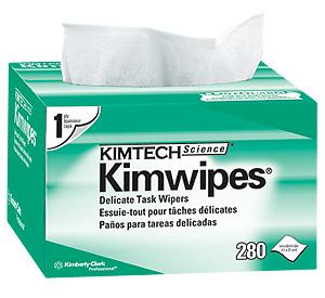 กระดาษเช็ดทำความสะอาด KIMTECH SCIENCE* KIMWIPES* Delicate Task Wipers 1-ply