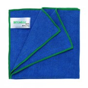 ผ้าไมโครไฟเบอร์ WYPALL* Microfibre Cloths with MICROBAN® Protection - Blue