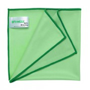 WYPALL* Microfibre Cloths with MICROBAN® Protection - Green