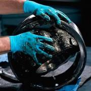 ถุงมือ KLEENGUARD* G10 Blue Nitrile Gloves S