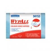 94153 ผ้าเช็ดอเนกประสงค์ WYPALL* Colour Coded Heavy Duty Wipers /Blue
