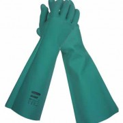 JACKSON SAFETY* G80 Chemical Resistant Nitrile Gauntlet (Size M)