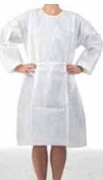 เสื้อคลุมชนิด Isolation Gown (แบบไม่กันน้ำ)