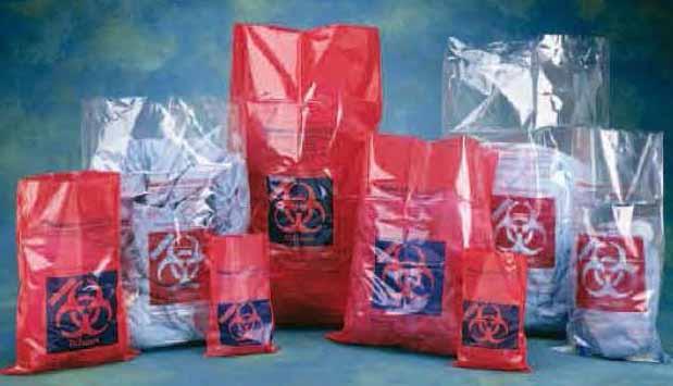 Biohazard Autoclave Bags ถุงแดงใส่ขยะติดเชื้อ ที่สามารถใส่เครื่องนึ่งน้ำฆ่าเชื้อได้