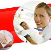 ผลิตภัณฑ์ไวป์ออล เอ็กซ์ 60 (WYPALL* X60) กับงานเช็ดทำความสะอาดร่างกายผู้ป่วยในโรงพยาบาล