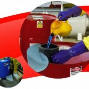 ผลิตภัณฑ์ดูดซับน้ำมันประสิทธิภาพสูง WYPALL* Chemical Sorbent Pad