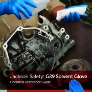 ถุงมือป้องกันสารละลาย G29 Solvent Glove Safety and Productivity in Perfect Balance