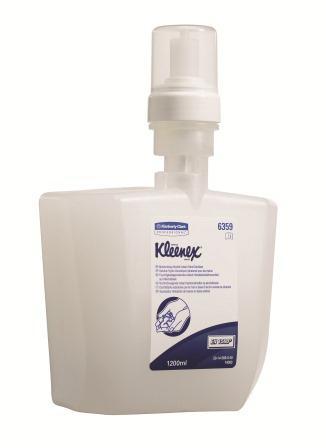 สบู่โฟมล้างมือแบบไม่ต้องใช้น้ำ KLEENEX Moisturising Instant Hand Cleanser