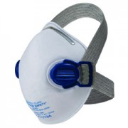 หน้ากากป้องกัน JACKSON SAFETY* R10 N95 Particulate Respirator Comfort Straps and Dual Valves