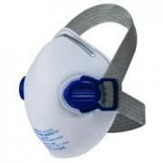 หน้ากากป้องกัน JACKSON SAFETY* R10 N95 Particulate Respirator Comfort Straps and Dual Valves
