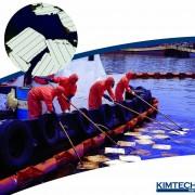 ผลิตภัณฑ์เช็ดดูดซับน้ำมัน Oil Sorbent Leak & Spill Solution