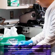 KIMTECH SCIENCE* KIMWIPES* Innovation And Precision Performance For You Scientific Environment.