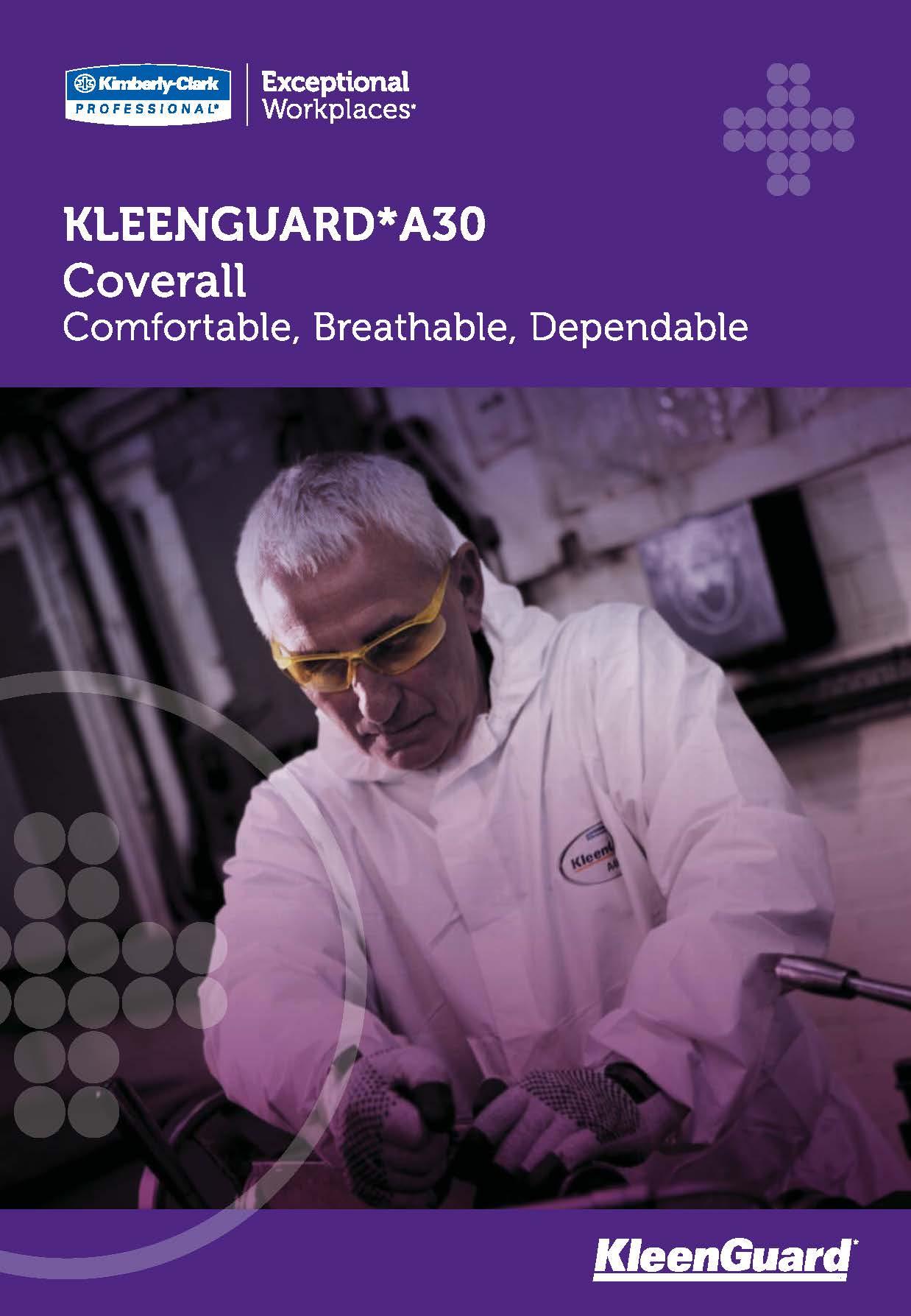 KLEENGUARD* A30 Comfortable, Breathable, Dependable