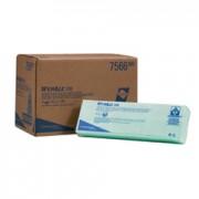 กระดาษเช็ดทำความสะอาด WYPALL* X80 Cleaning Cloths - Interfolded / Green