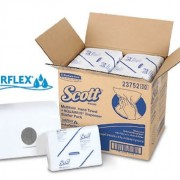 SCOTT® AIRFLEX* Multi-Fold Towel + Dispenser 23752