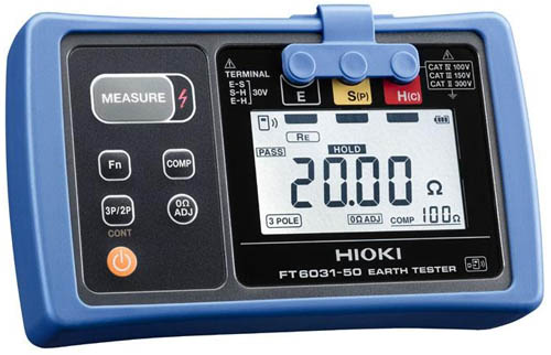 The New Hioki Earth Tester FT6031-50